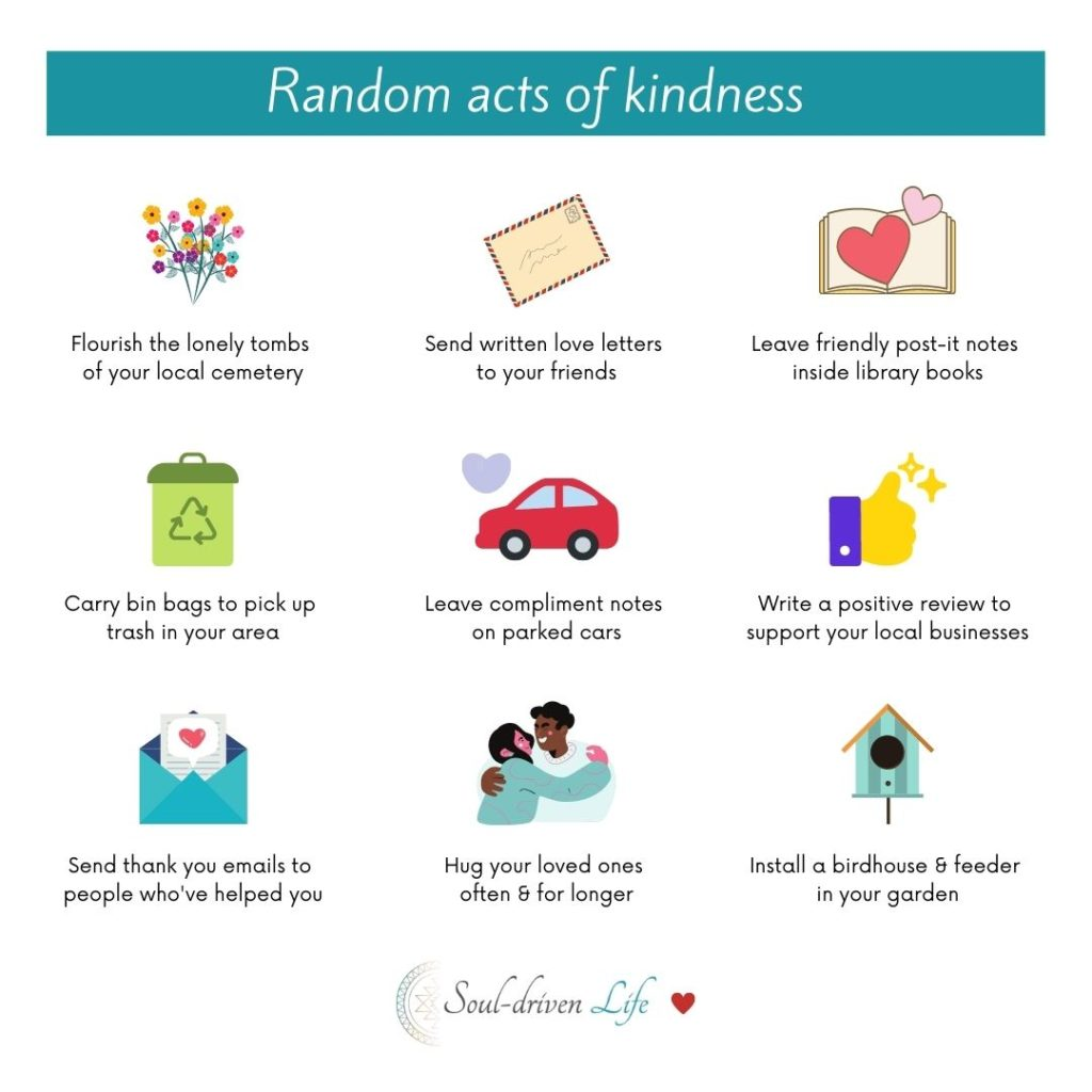 Random acts of kindness | Soul-Driven Life